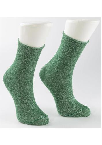 Damen Glitzersocken (Lurex)