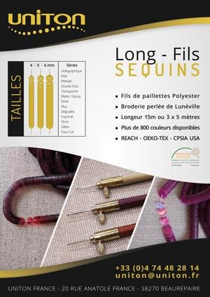 SEQUINS - Paillettes Long - Fils