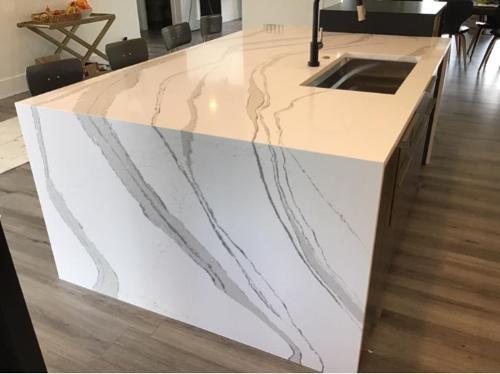 Quartz Artificial Stone Countertops for Kitchen