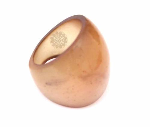 Graceful Brown Ring