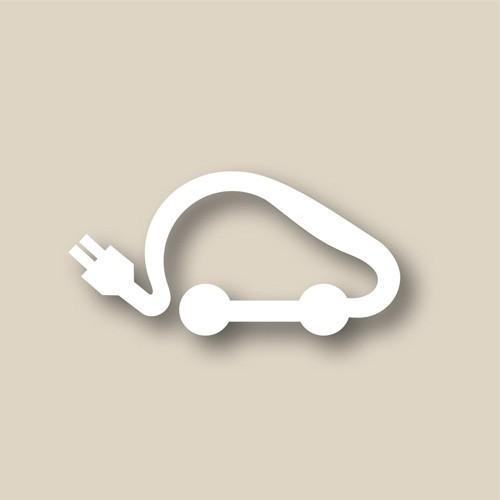 Thermomarque symbole voiture électrique