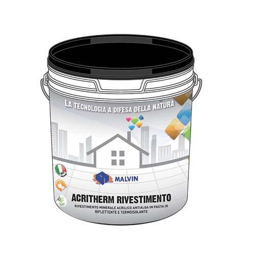 Acrylic Thermoreflectants, Acritherm Rivestimento