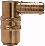 Tempered coupling DN 9, Taps 13 mm, Blocking valve,...
