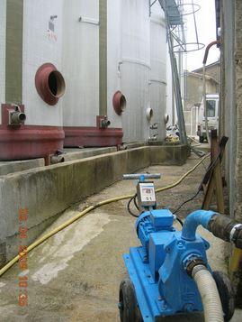 Détartrage chimique de cuve