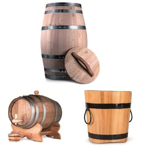 Decorative barrels