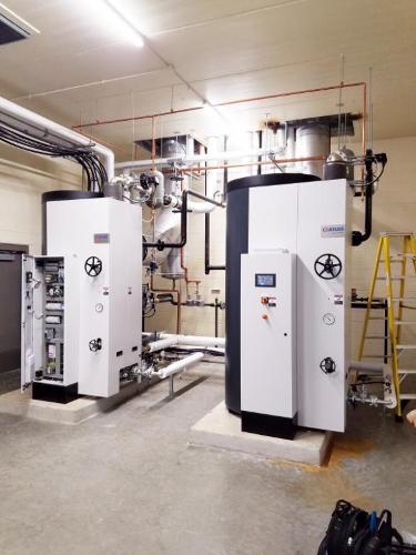 Installation multiple - Chaudières à vapeur