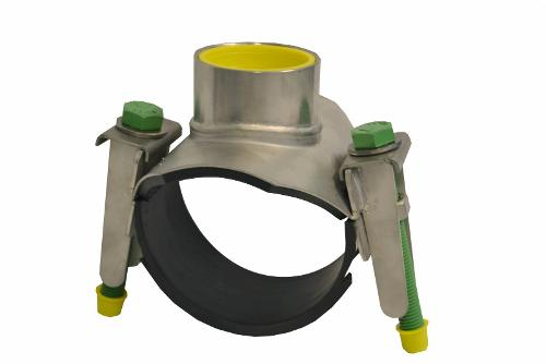 728/1-001 – Tapping saddle, stainless steel