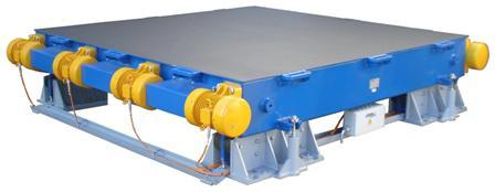 custom-built vibrating tables by Knauer Engineering