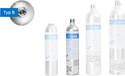 Five-gas mixtures
