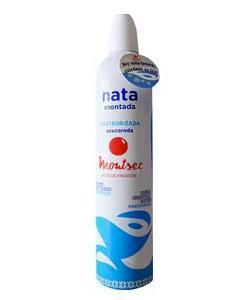 Spray de nata refrigerada 500g