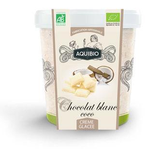 Crème Glacée BIO Chocolat Blanc Coco