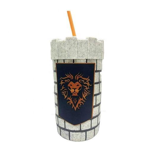 OEM Plastic 3D Safe Drinking Cartoon Model Cup