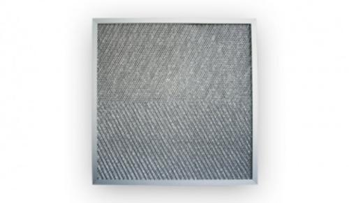 Gestrickfilter Aluminium 500x500x20