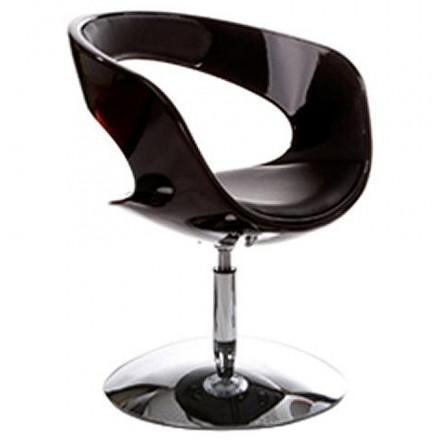 Fauteuil design RHIN noir