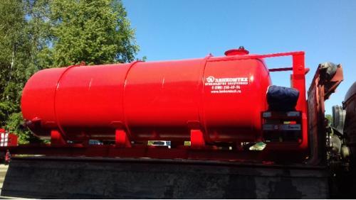 Stationary tanker LKT-VP