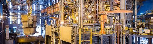 Hot metal pre-treatment plants