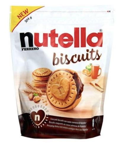 Nutella Biscuit T22_- 304g