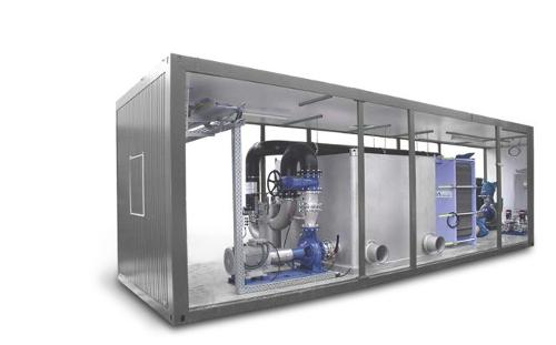 Centralized cooling plant