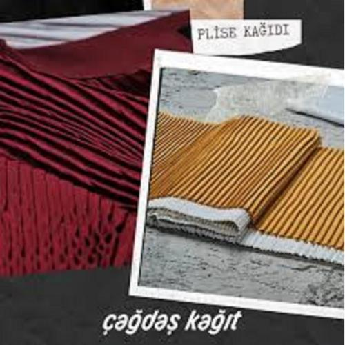 pleating paper