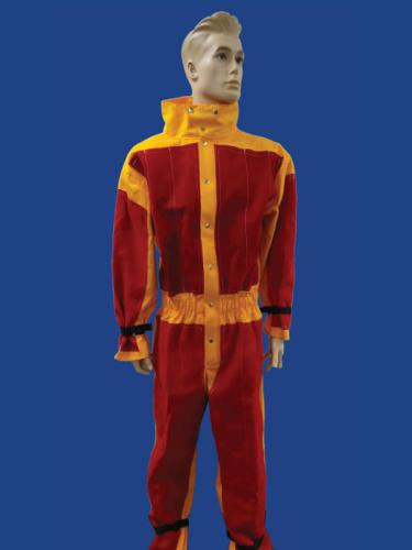 Flame Retardant Leather Blast suit