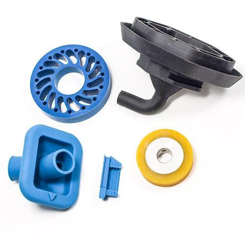 Formteile aus Silicon und Gummi