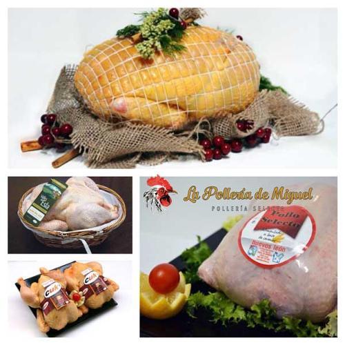 Gran variedad de Pollos