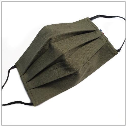 Masque 3 Plis Vert Militaire