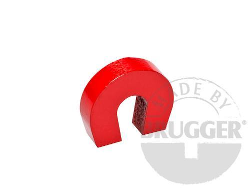 Horseshoe magnet made of AlNiCo