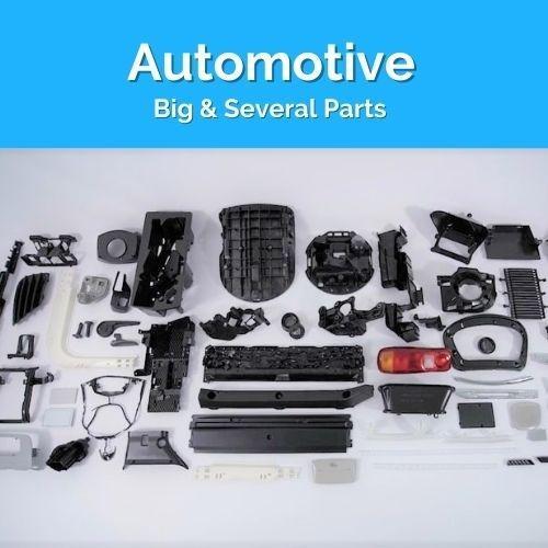 Molds for Automotive parts
