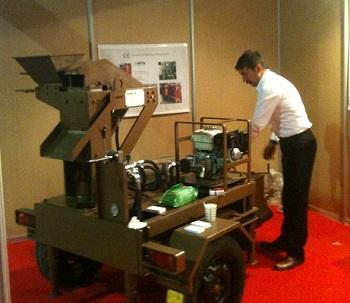 Toprak Tuğla-Kerpiç makinesi