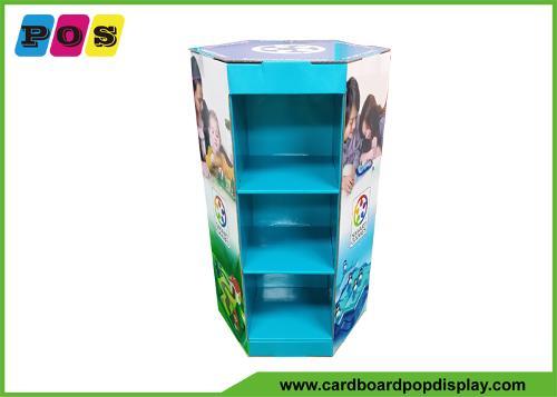 Cardboard Floor Display Table for Games play