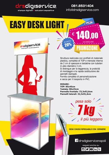 banchetto promozionale EASY DESK LIGHT