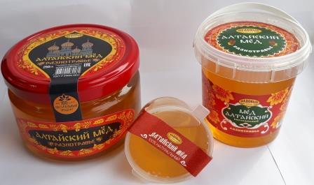 Мед натуральный Алтайский