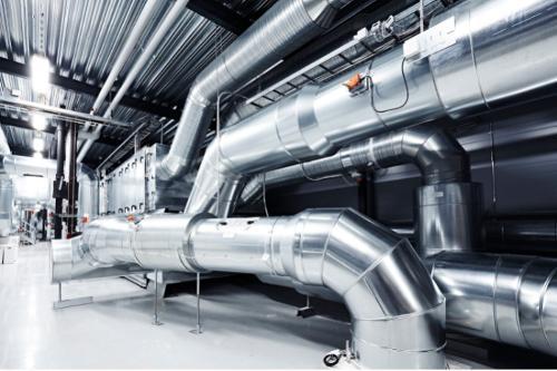tube aéraulique conduit ventilation gaine galvanisé vmc
