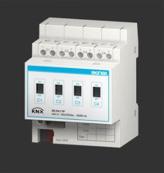 KNX Outputs and actuators