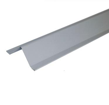 Metal triangular duct