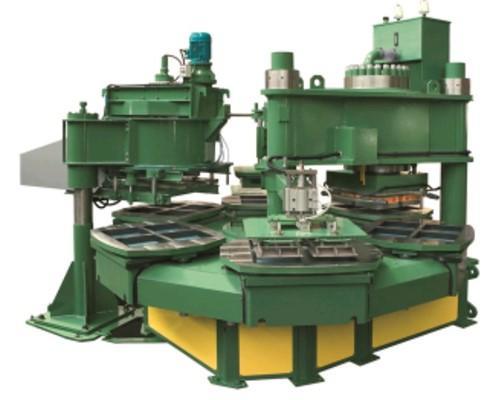 Prensa para la fabricación de monocapa