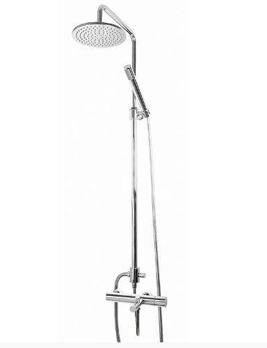 Rampa de banheira e duche monocomando extensível