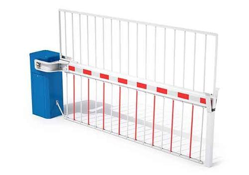 Barrière industrie avec grille LBA 12 HP