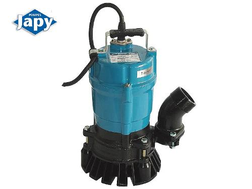 Portable single-phase drainage pumps