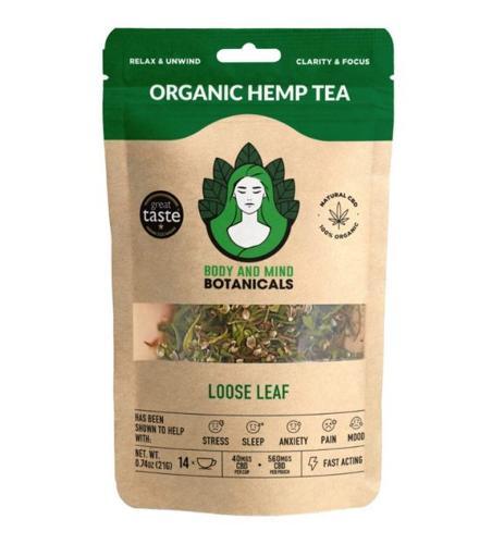 Organic Hemp Herbal Tea