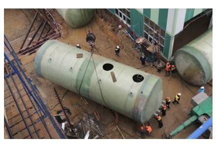 STEKON tanks and sewage pumping stations