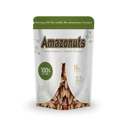 Snack de Castañas Amazónicas