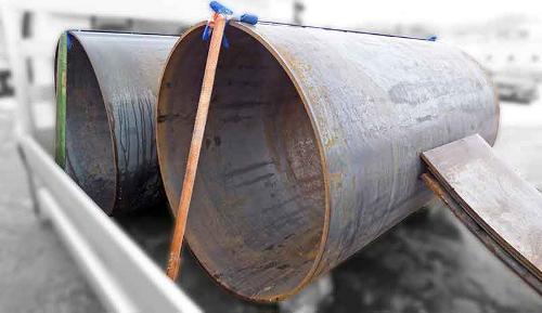 Rollen von Blechen mit der Länge bis 3000 mm und mit einer S
