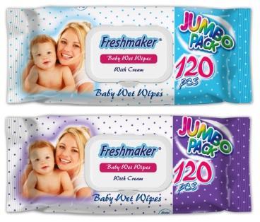 Freshmaker Baby wet wipes