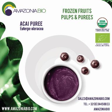 Organic Açaí Puree