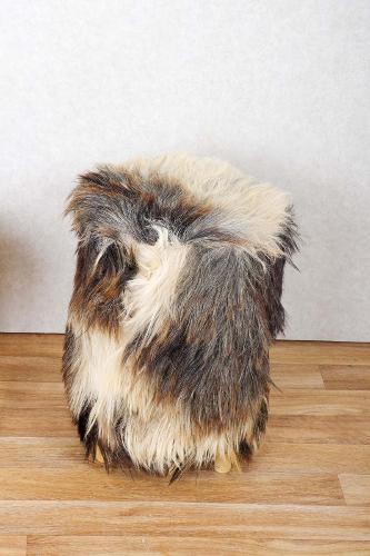 Goat Leather Stool