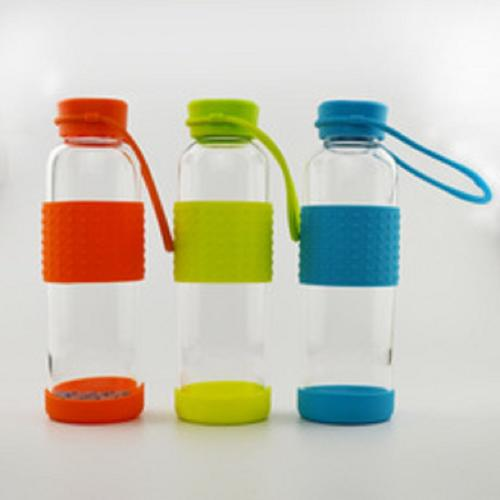 500ml borosilicate glass travel bottles