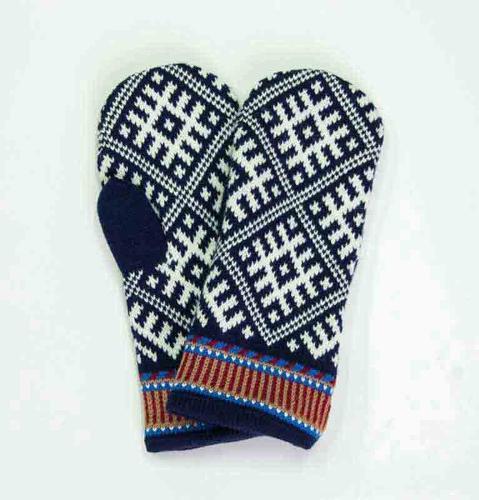 100% Wool Mittens 'TILDA'