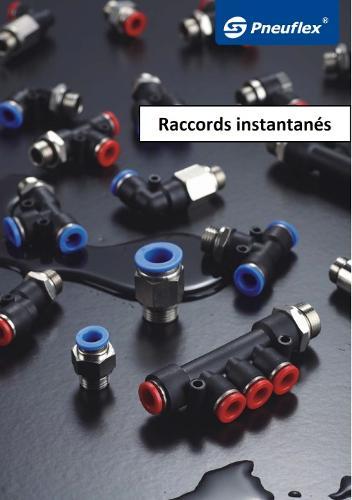 Raccords instantanés pneumatiques